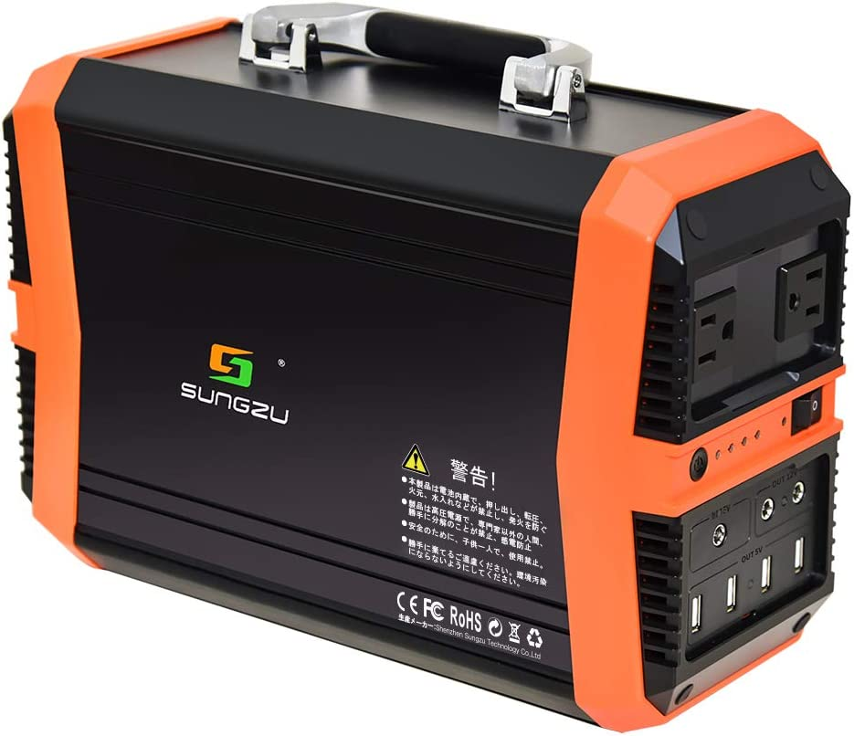 SUNGZU 346Wh AC出力300W ポータブル電源