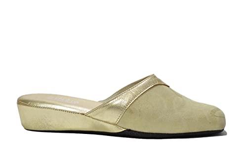 435cb4538b0c1 Cinzia Soft Ciabatte da camera oro scarpe donna 631 40  Amazon.it  Scarpe e  borse
