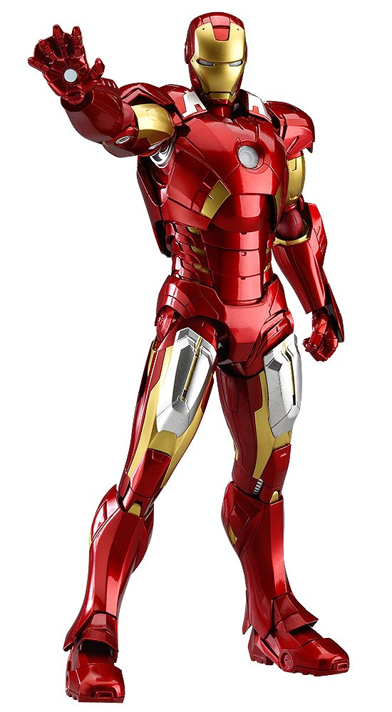 Amazon Good Smile The Avengers Iron Man Mark VII Figma Action Figure Toys Games