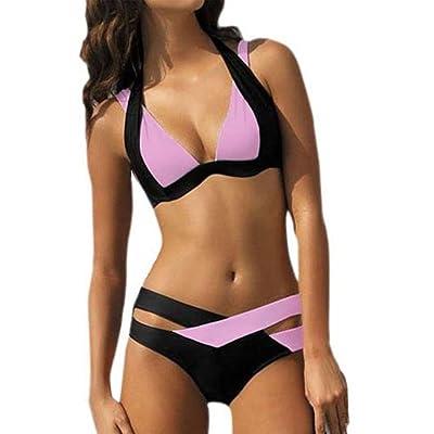 Besde Swimsuit Women Sexy Swimwear Women Swim Beach Wear Print Bandage Swimsuit