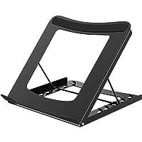 BONTEC Multi-functie Verstelbare Ergonomische Laptop Stand Opvouwbare Draagbare Desktop Computer Houder Koeling Koeler…