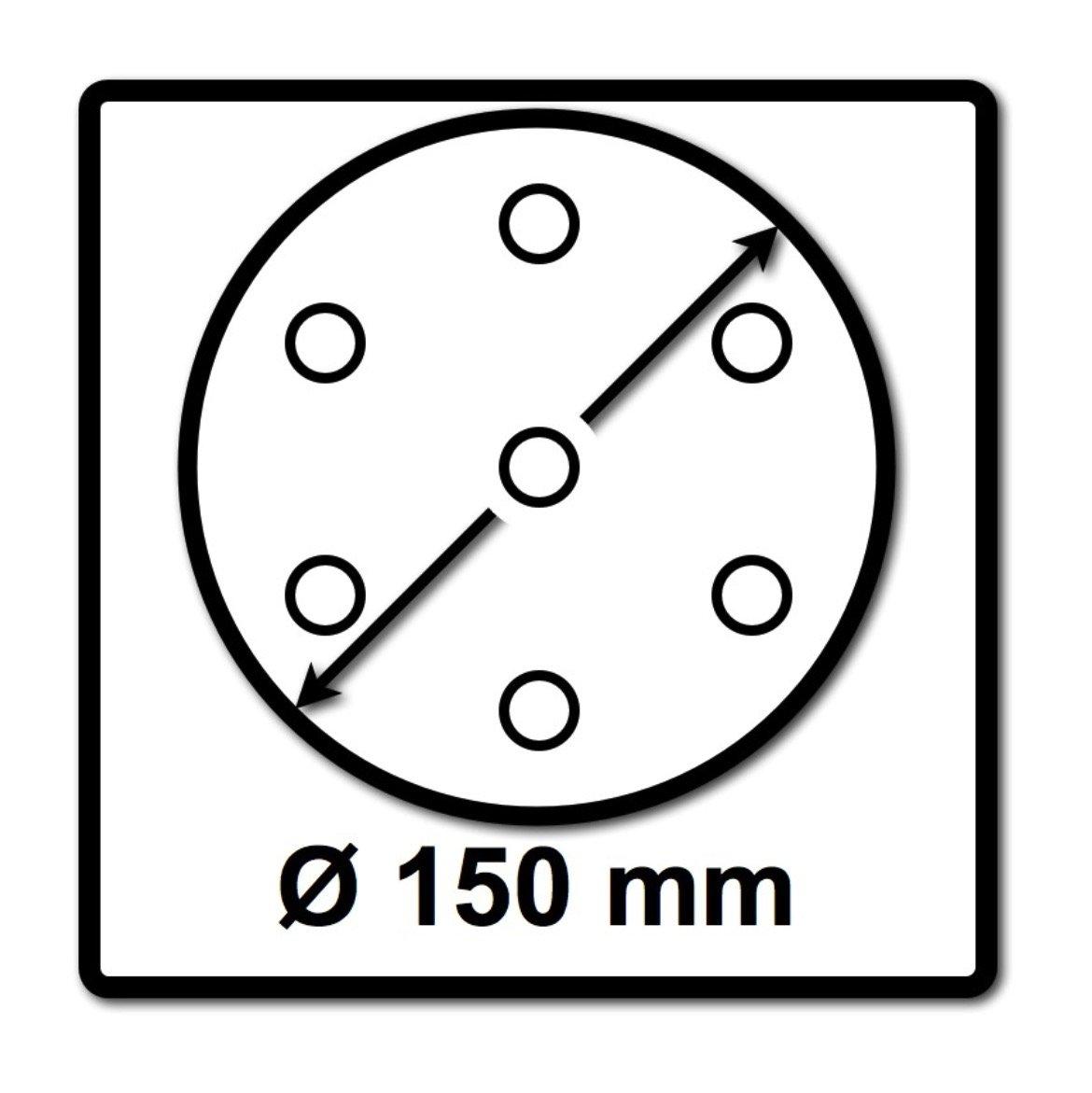 Festool Rubin 2 STF Sanding Disc 150mm 150mm 60g Pack of 50