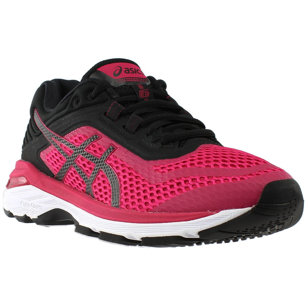 ASICS Women's GT-2000 6 Running Shoe B0714FF4N7 11 B(M) US|Bright Rose/Black/White