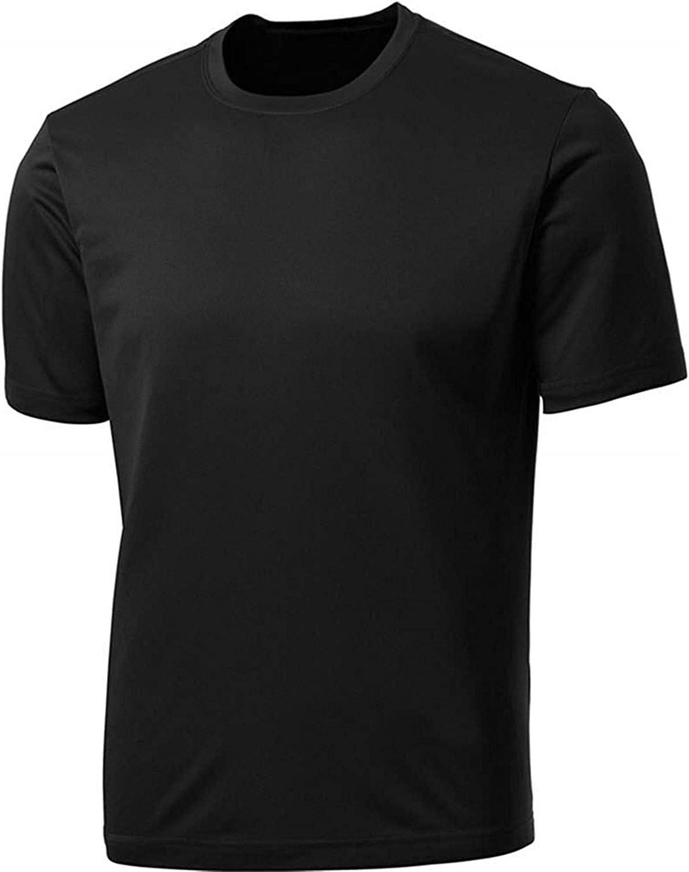 Seuriamin Technically Its Always Full Men Ultra Soft Outdoor Raglan Baseball Short Sleeve Shirts Tops