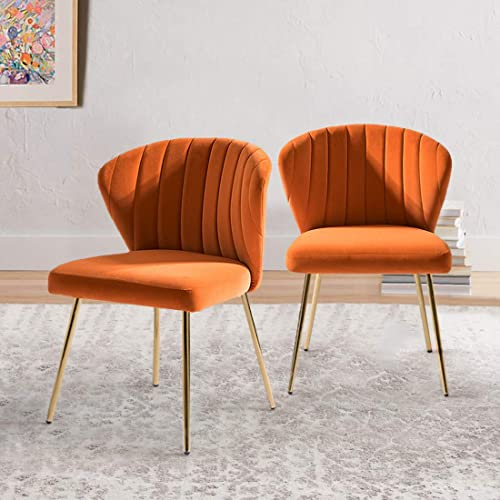 Accent Chair Glam Velvet Side Chair