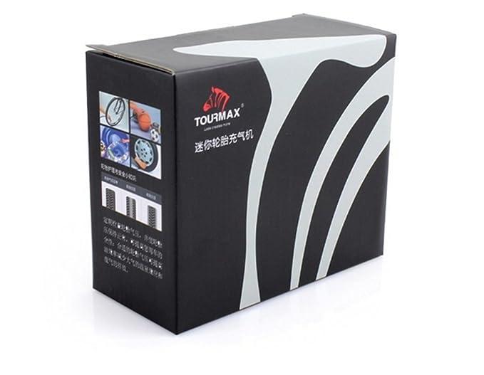 Shina Top de calidad Negro Auto de aire Aumentador bewegliches Bomba 3. Mini de Compresor 80psi DC12 V 35L/min: Amazon.es: Coche y moto