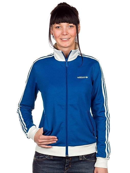 Tracktop Blu donna W69202 sportiva da Adidas Beckenbauer Giacca qpPvwWUa