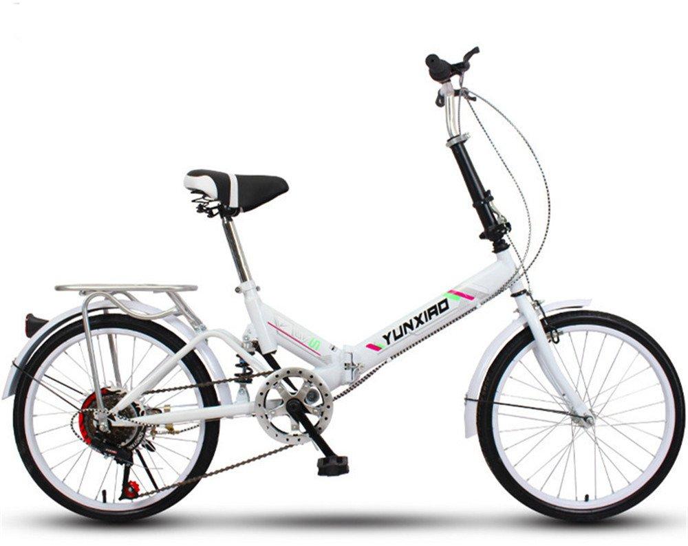 折りたたみ自転車 折り畳み 16インチ 20インチ 変速自転車 単速  変速 通勤 通学 小型 小径 簡単収納 B07C9SWMQQ 20インチ変速|N N 20インチ変速