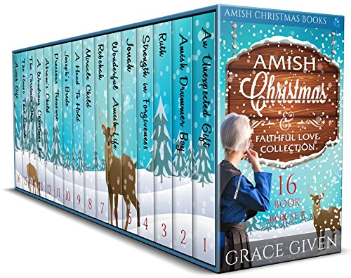 Amish Christmas Books: Amish Christmas & Faithful Love Collection: 16 Book Box Set
