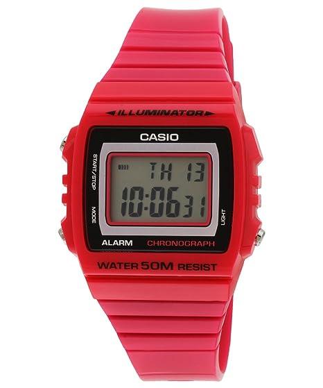 CASIO Reloj Digital para Mujer de japones FD con Correa en Acero Inoxidable 19818: Casio: Amazon.es: Relojes