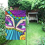 custom carnival - Happy More Custom Carnival Outdoor Decorative Flag Double Garden Flag
