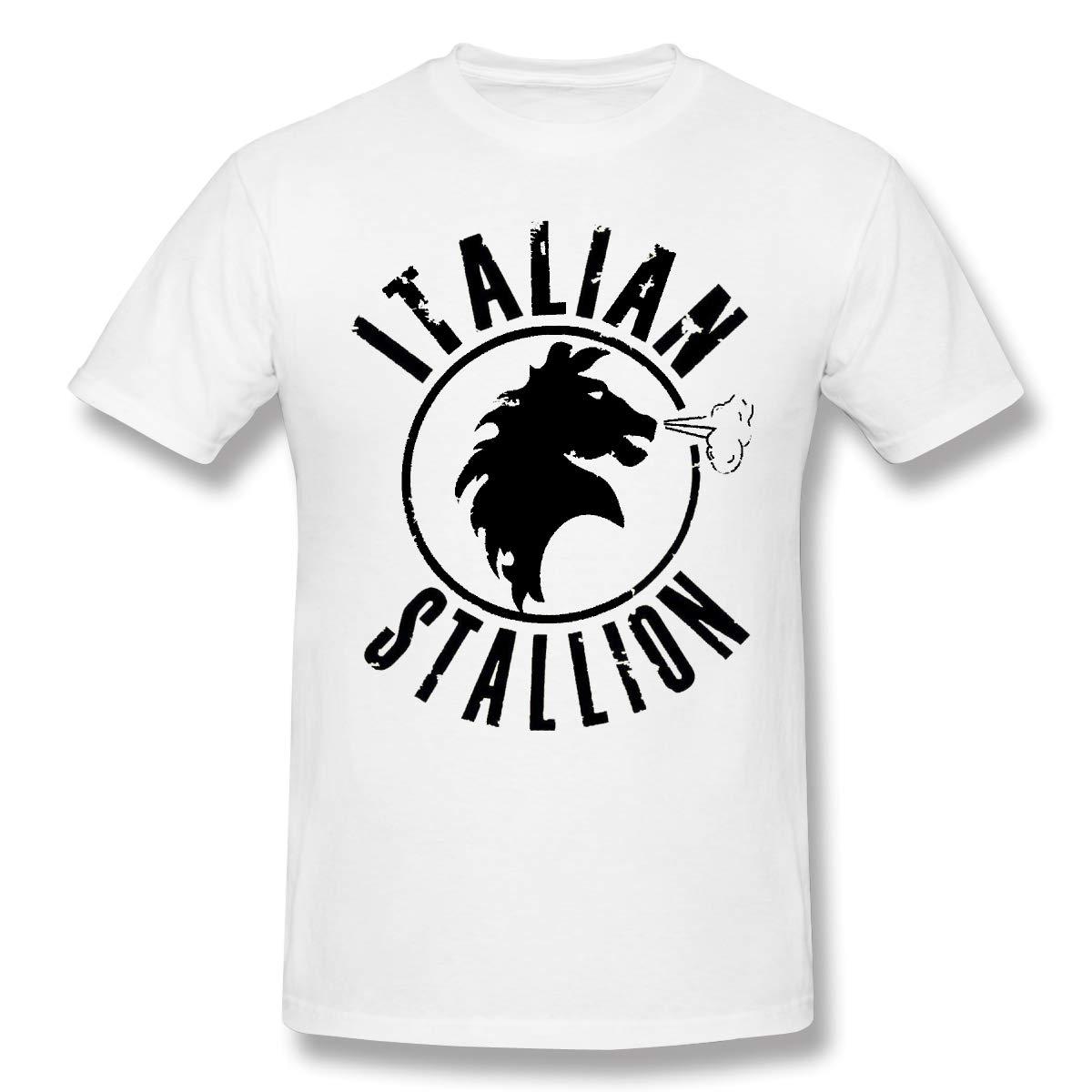Rocky Balboa Italian Stallion Movie S T Shirt Fashion Short Sleeves Man S T