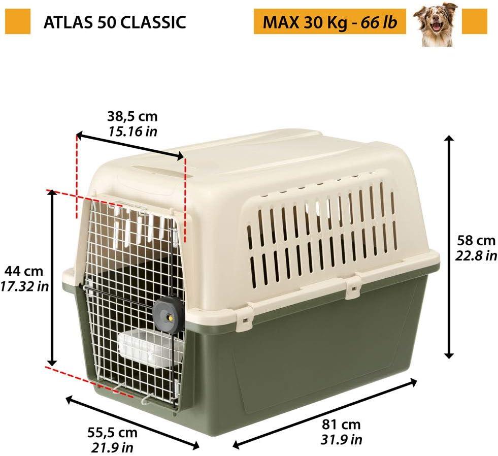 8xH 11 9x12 42-Inch Purple 18 Ferplast Carrier Atlas 10 Open Cat and Dog Carrier Atlas Open