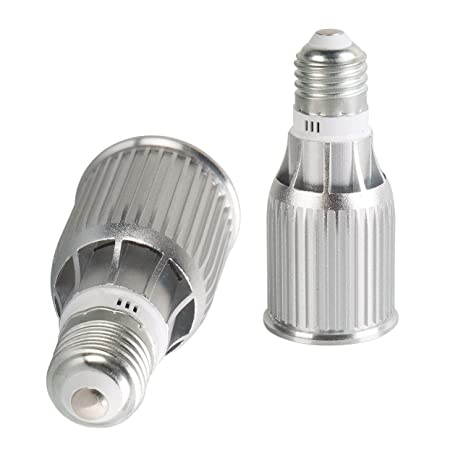 JINYU COB LED Spot Bombilla Reflector Reflector Reflector Blanco cálido Lámpara 3000K 7 vatios Iluminación no regulable 85V-265 V E27 Reemplazo de ...