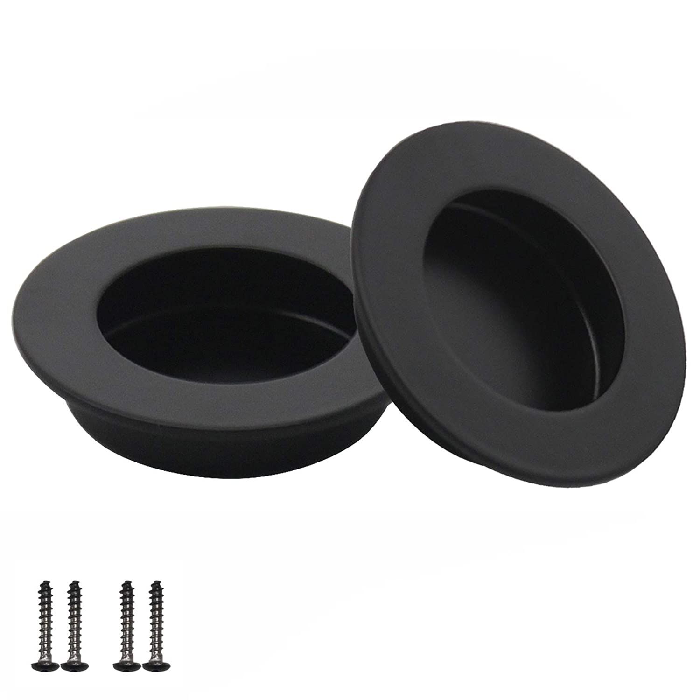 Probrico - Mh005 -Poignée de tiroir coulissant de bureau - Poignée ronde encastré de 15,2cm de long