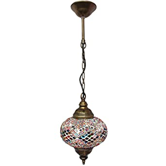 Ceiling Pendant Fixtures, Mosaic Lamps, Turkish Lamps, Hanging Lights, Moroccan  Lanterns,
