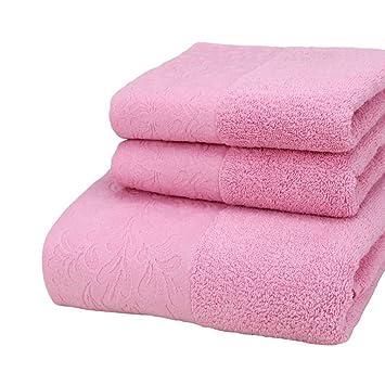 3 piezas Juego de toallas toalla de baño toallas de lujo 700 gsm Super suave pelusa Supreme calidad de 100% algodón: Amazon.es: Hogar