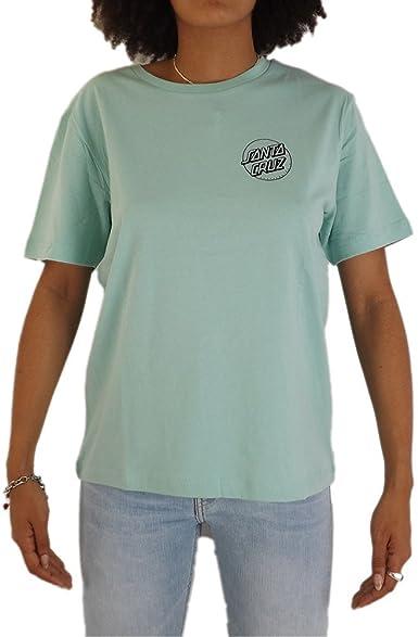 Santa Cruz Screaming Hand Outline Camiseta Mujer Verde 34 XXS ...