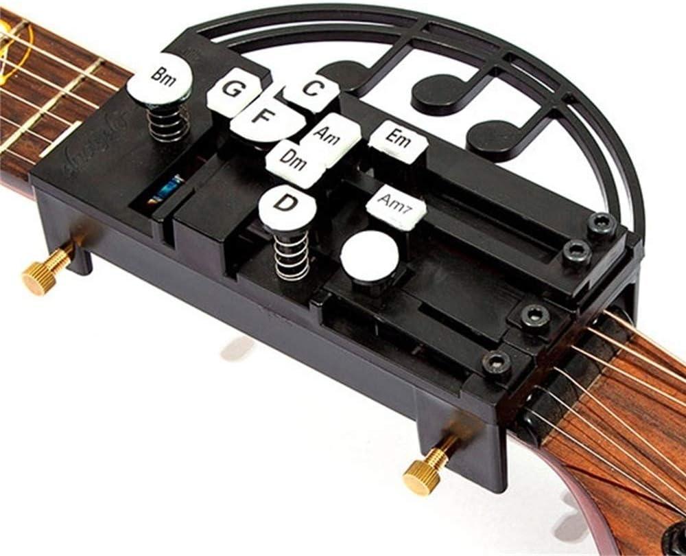 Herramienta para guitarra con una tecla asistida para guitarra, accesorio de guitarra para dedo de acorde, herramienta de ayuda de práctica para ...