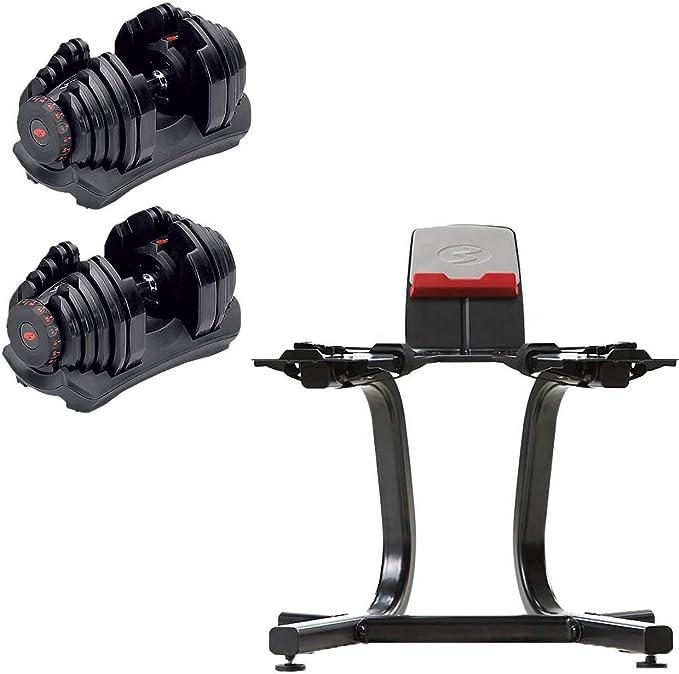 5-90lbs // 2.5-40kg PAIR Bowflex Selecttech 1090 Replica Dumbells