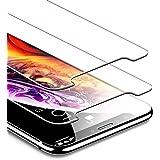 ESR iPhone X/XS ガラスフィルム 【旭硝子製5倍強化 2枚セット】 アイフォンXS ガラスフィルム 5.8インチ 強化ガラス 保護フィルム 業界最高硬度9H / 高光透過率 / 3D Touch/飛散防止/指紋防止