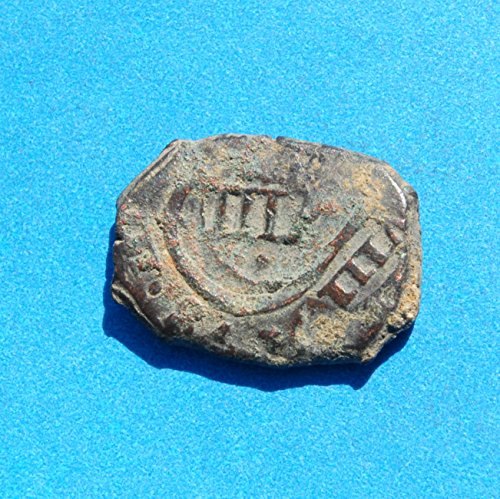 1630 Spain Philip IV Caribbean Pirate Era 8 Maravedis Coin Copper ...