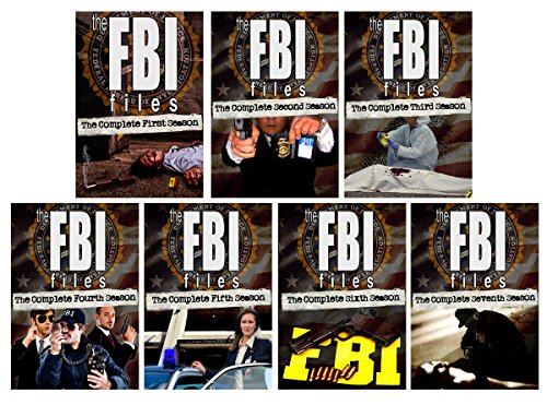The FBI Files: The Complete Series - All 7 Seasons - 34 DVDs - 121 Episodes