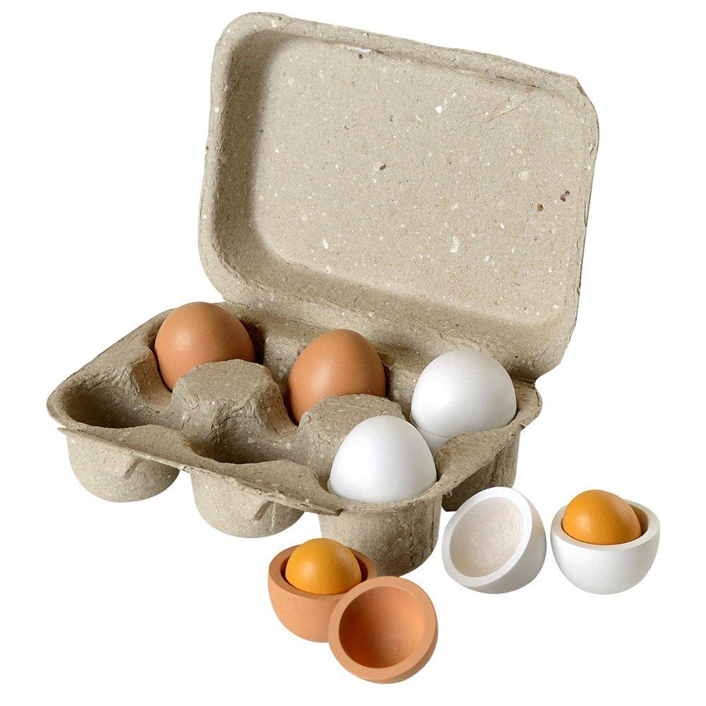 Pretend Play Toy Products Half Dozen Eggs