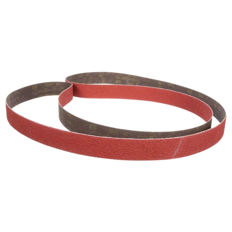 """5 120 Grit Belts 1//2/"""" X 8/"""" WIDE Red Sanding Stick w//120 Grit Belt"""