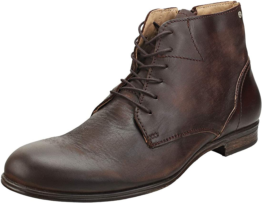 Sneaky Steve Dirty Mens Brown Leather Chukka Boots