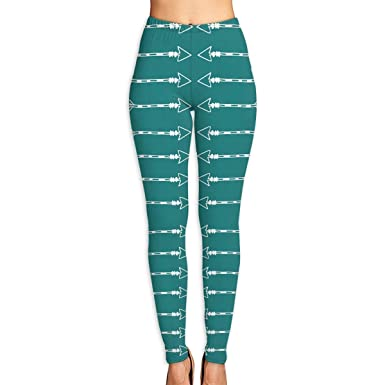 Amazon.com  Tribal Arrows Teal Compression Yoga Pants 8e45d87fa