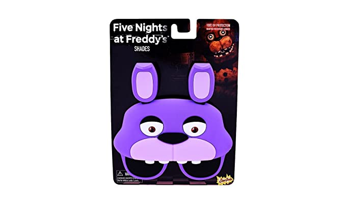 Party Costumes - Sun-Staches - Five Nights at Freddy's - Bonnie Bunny Sunglasses SG2594 VI3HRe