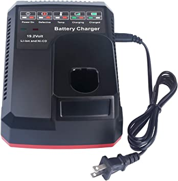 Replace for Craftsman 19.2V Battery//Charger NIMH C3 130279005 11375 11376 4.0Ah