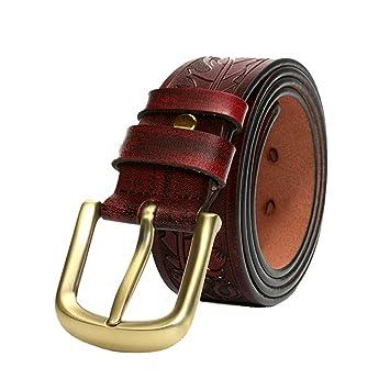 Cinturón para hombres Cinturones de hombres tallados en ...
