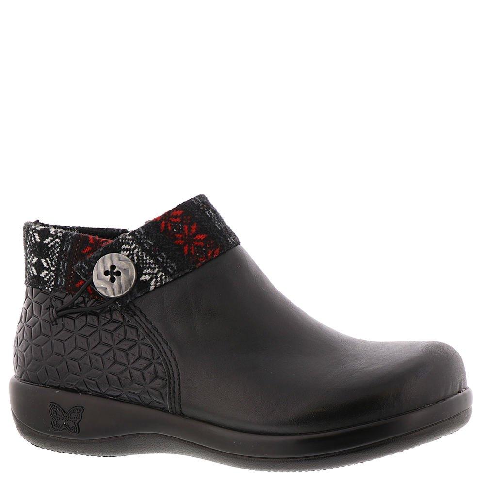 Alegria Womens Sitka Rain Boot Snowflake Black Size 39 EU (9 M US Women)