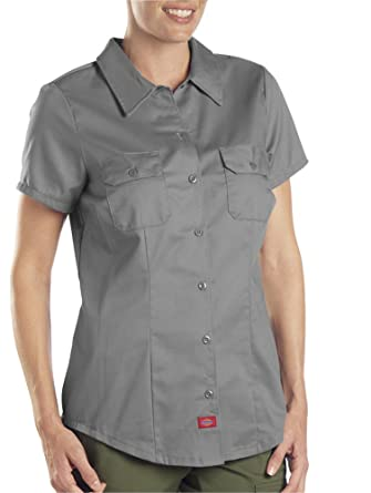 Dickies Damen Bluse Gr. Small, graphit