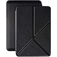 Robustrion Ultra Origami Case Cover for All Amazon Kindle Paperwhite 10th Generation - Black