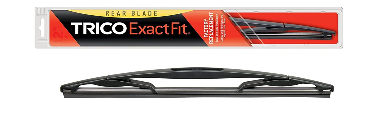 """Trico 12-E Exact Fit Rear Wiper Blade 12"""", Pack of 1"""
