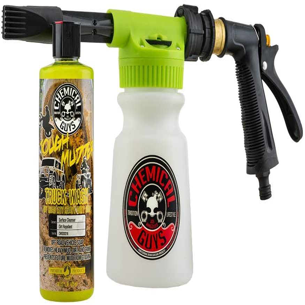 Chemical Guys EQP347 TORQ Foam Blaster 6 & Tough Mudder Truck Wash, 16 fl. oz