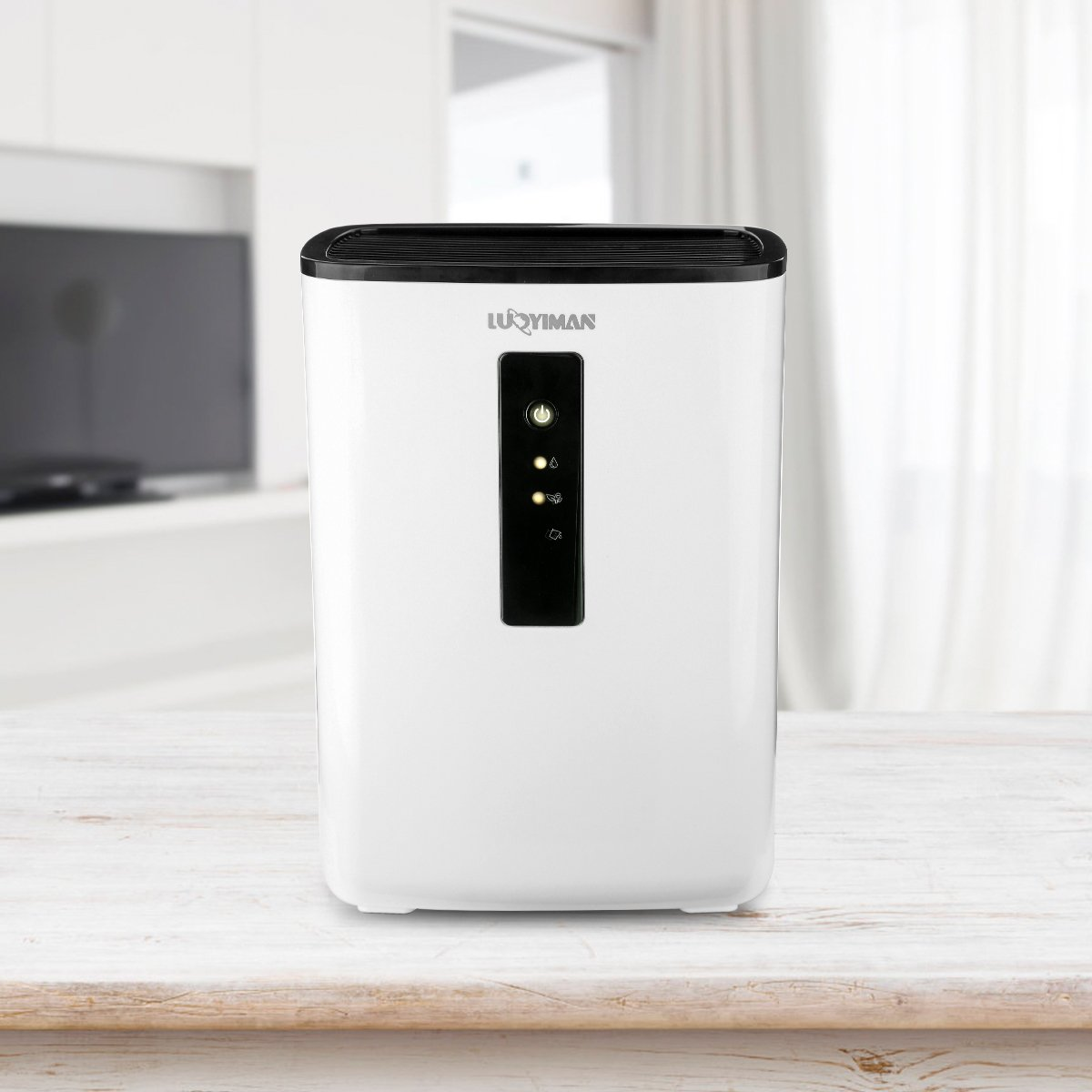 LUOYIMAN Dehumidifier Electric Home Dehumidifier Quiet Operation with UV Sterilization (2.5 Liter) by LUOYIMAN (Image #8)