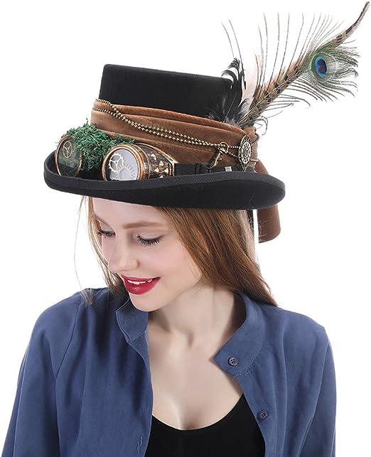 SCSY-Sombrero Sombrero de Sombrerero Loco Sombrero de Pirata ...