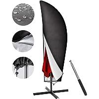Parasol Cover(265/40 * 60 * 50cm),Parasolhoes,Parasol Cover Zwart,Parasol Beschermhoes met Staaf,Waterdichte Parasolhoes…