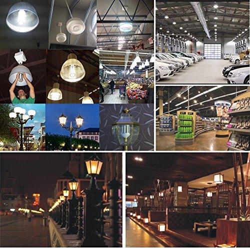 Mininono High Power LED Bulb 25W Aluminum High Power Corn Light Bulb, 108LEDs 200W Halogen Bulbs Replacement, Warm White 3000K Medium Edison E26/E27 Base Super Bright LED Lamp by Mininono (Image #6)