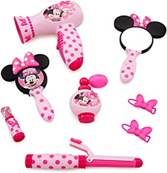 Minnie Mouse Beauty Set (Real Hair Dryer Sound): Amazon.co