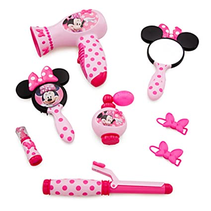 Minnie Mouse Beauty Set Real Hair Dryer Sound