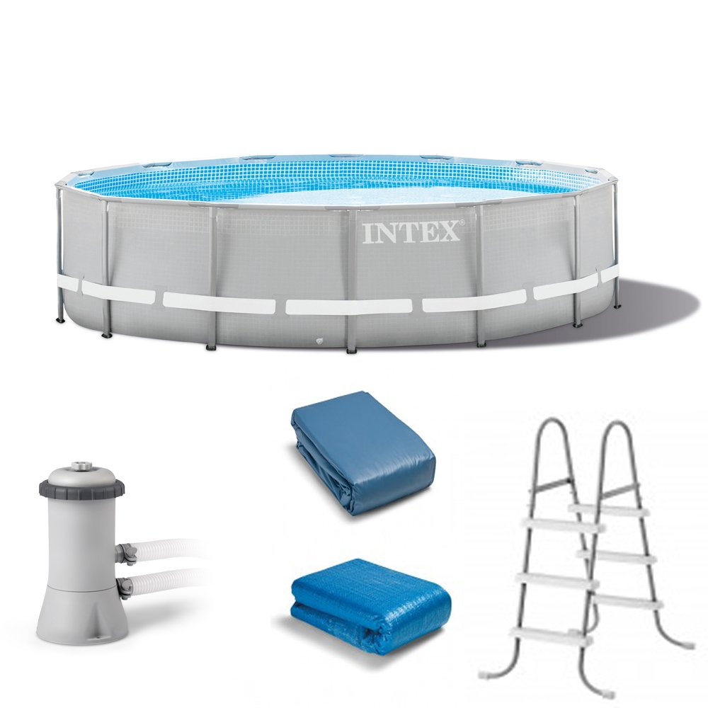 Intex 14' x 42'' Above Ground Ultra Frame Pool Set with 1000 GPH Filter Pump