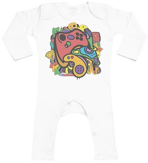 Gamer Footless - peleles para bebé - peleles para bebé niño - peleles para bebé niña: Amazon.es: Ropa y accesorios