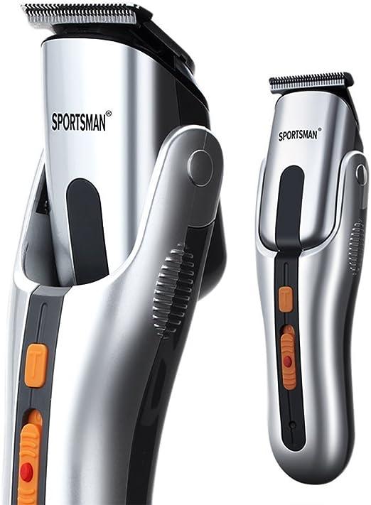 gordve Recortadora de pelo, kit de afeitadora eléctrica para ...