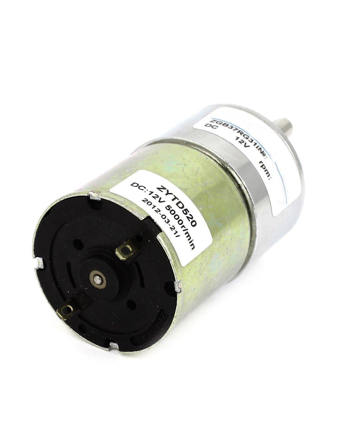 Amazon.com: eDealMax DC12V 5000 RPM 150 RPM de Salida rotativo Reductor de velocidad caja de engranajes del Motor: Electronics