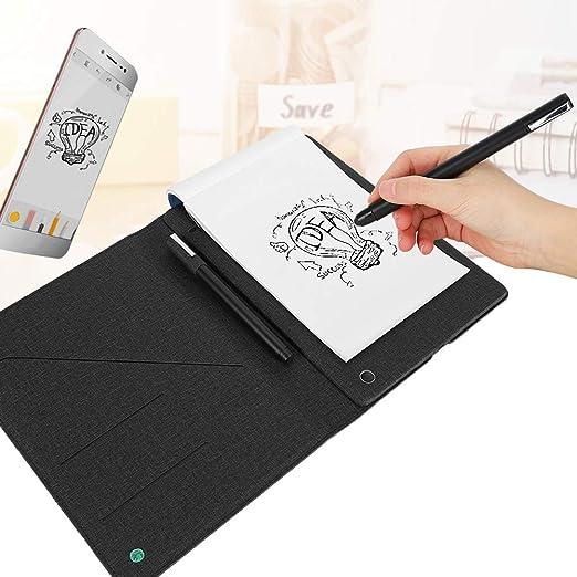 コンテンツリアルタイムプロジェクションインテリジェント手書きボードノートブックデジタルタブレット、Bluetooth 4.0手書きタブレット、描画教育用のブラックアイデアディスプレイ